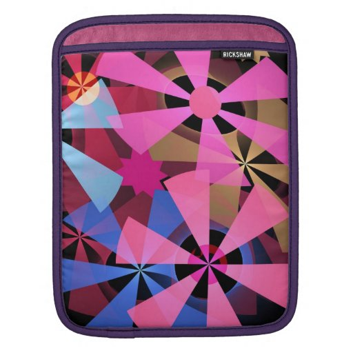 Cool Patterns in Motion iPad Sleeve