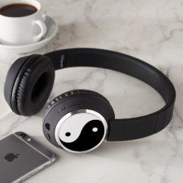 Cool Peace logo Headphones