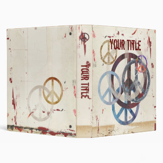 Cool Peace Signs Binder