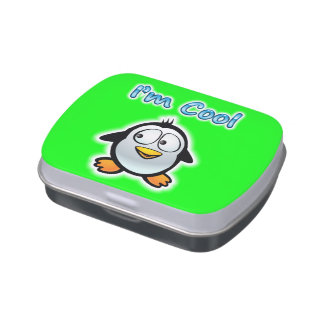Cool Penguin Jelly Belly Tins