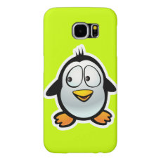Cool Penguin Cartoon Samsung Galaxy S6 Case