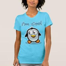 Cool Penguin Cartoon T-Shirt