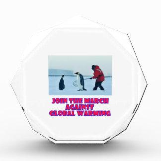 cool Penguin designs Acrylic Award