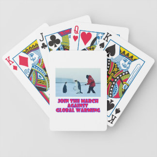 cool Penguin designs Bicycle Playing Cards