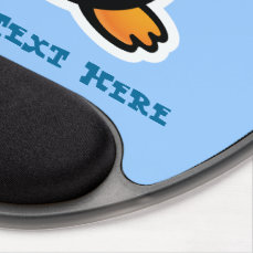 Cool Penguin Gel Mouse Pad