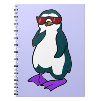 Cool Penguin Notebook
