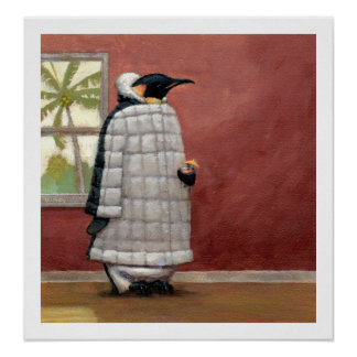 Cool Penguin print