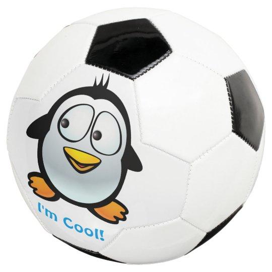 cool penguin soccer ball zazzle com