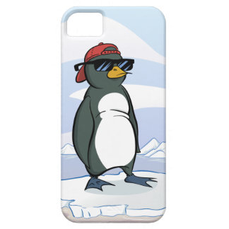 Cool Penguin Wearing Sunglasses iPhone SE/5/5s Case