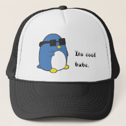 Cool Penguino Trucker Hat