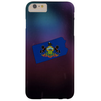 Cool Pennsylvania Flag Map Barely There iPhone 6 Plus Case