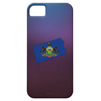 Cool Pennsylvania Flag Map iPhone 5 Case