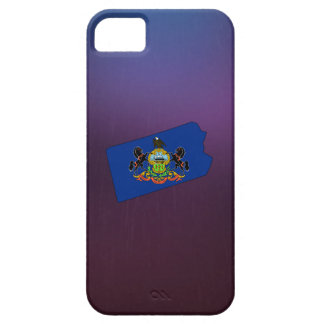 Cool Pennsylvania Flag Map iPhone 5 Covers