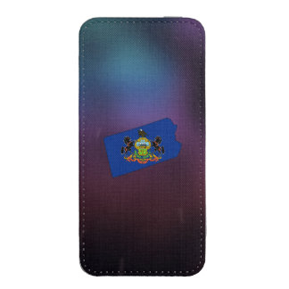 Cool Pennsylvania Flag Map iPhone 5 Pouch