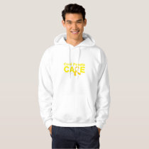 Cool People Care Childhood Cancer Awareness Hoodie