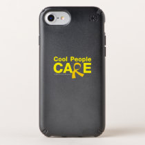 Cool People Care Childhood Cancer Awareness Speck iPhone Case