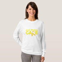 Cool People Care Childhood Cancer Awareness T-Shirt