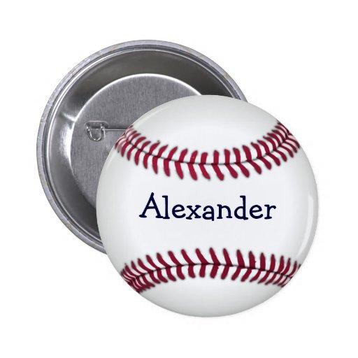 Cool Personalized Baseball Pin