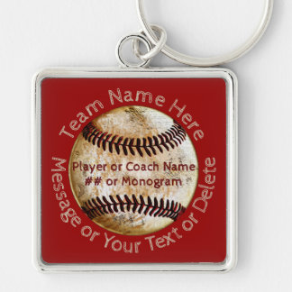 Cool Personalized Baseball Team Gifts, Keychains