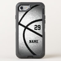Cool Personalized Basketball iPhone Case Your Text