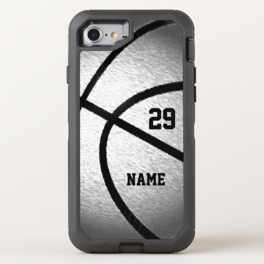 cheap for discount 98a11 2d7c9 Cool Personalized Basketball iPhone Case Your Text