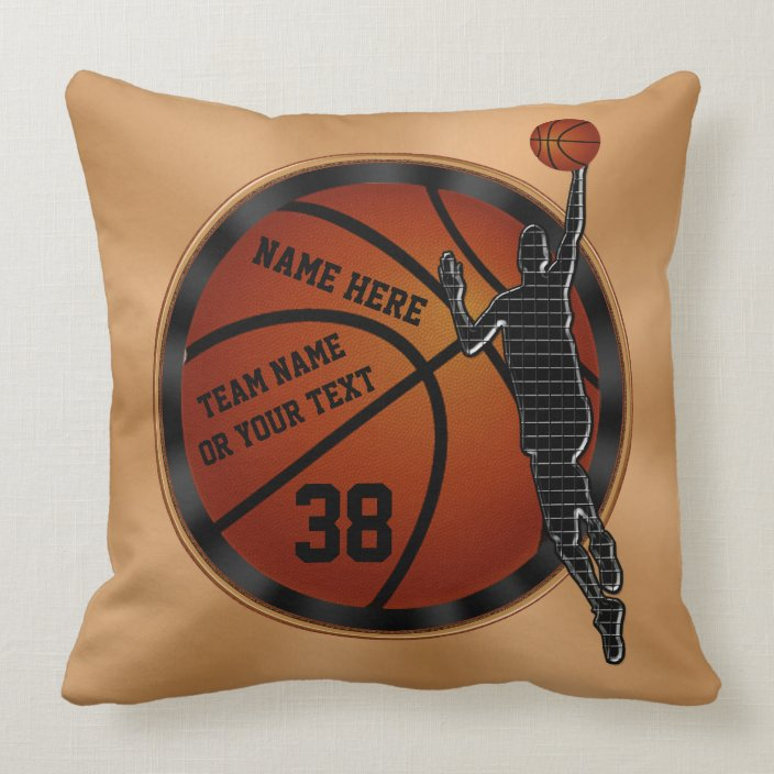Cool Personalized Basketball Senior Night Ideas Throw Pillow Zazzle Com