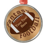 Cool Personalized Fantasy Football Ornament