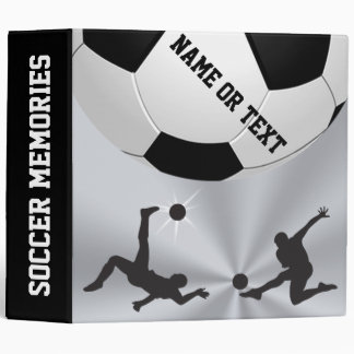 Cool Personalized Soccer Binder Album