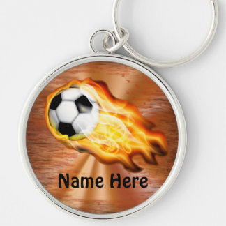 Cool PERSONALIZED Soccer Keychains with YOUR NAME