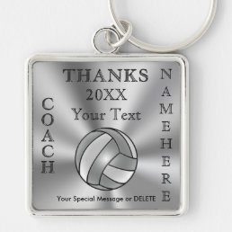 Cool Personalized Volleyball Coach Gift Ideas Keychain