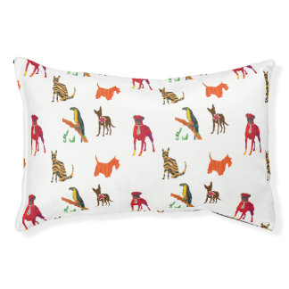 Cool Pets Design  Dogs Cats Colorful   Toucan Pet Bed