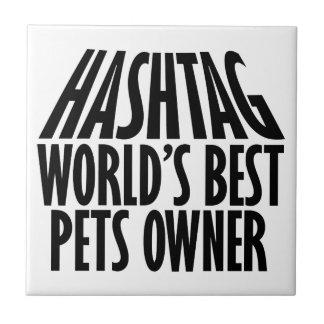 cool pets owner designs ceramic tile