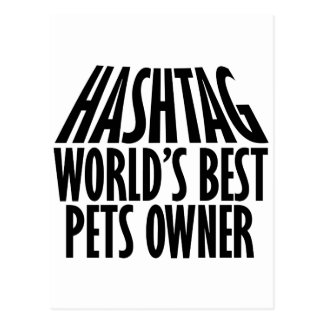 cool pets owner designs postcard