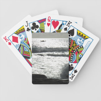 Cool photo bicycle playing cards