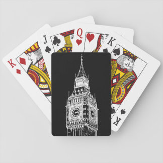 Cool Photo Illustration of Big Ben Playing Cards