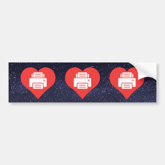 Cool Photocopy Machines Pictograph Car Bumper Sticker