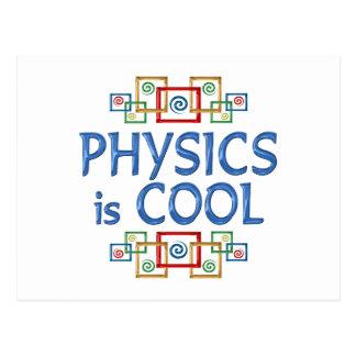 Cool Physics Postcard