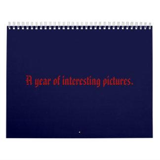 cool pics calendar