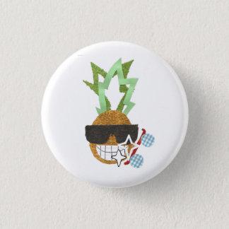 Cool Pineapple Badge Pinback Button