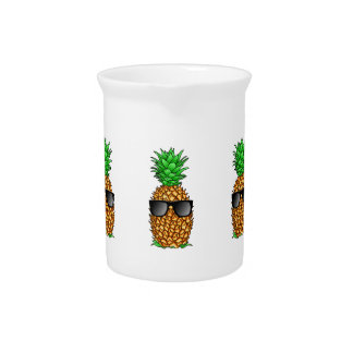 Cool Pineapple Beverage Pitcher