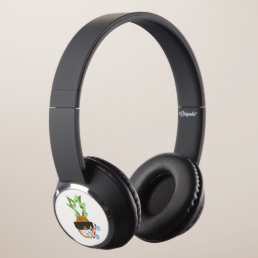 Cool Pineapple Headphones
