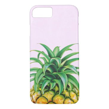 Beach Themed Cool Pineapple iPhone 7 Case