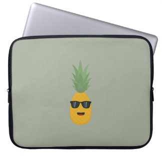 cool pineapple laptop sleeve