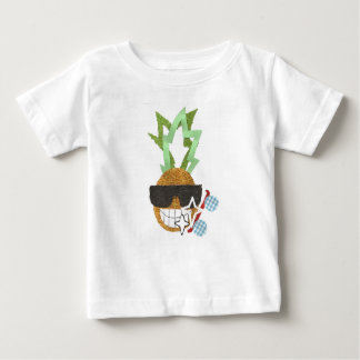 Cool Pineapple No Background Baby T-Shirt
