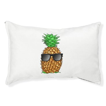 Hawaiian Themed Cool Pineapple Pet Bed