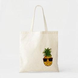 Cool pineapple tote bag