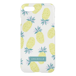 Cool Pineapples Pattern iPhone 7 Case