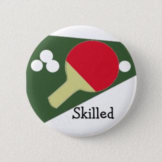 Cool Ping Pong Design Pinback Button