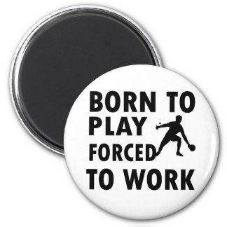 Cool Ping Pong Designs 2 Inch Round Magnet