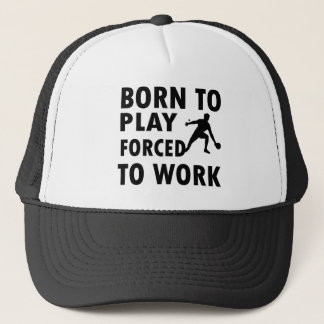 Cool Ping Pong Designs Trucker Hat
